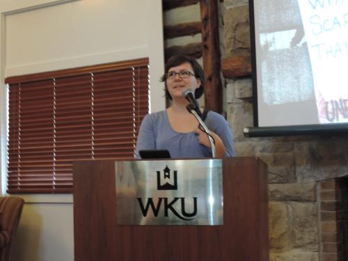 GWS Graduating Student and Book Club LeaderHilary Harlan