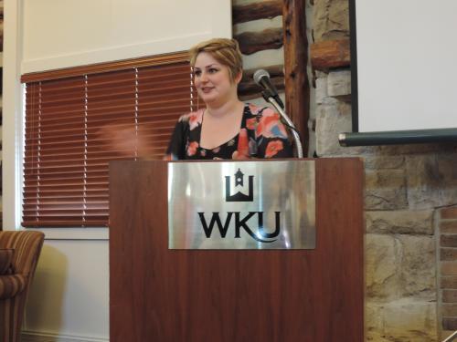 GWS Graduating Student Margaret Woodward