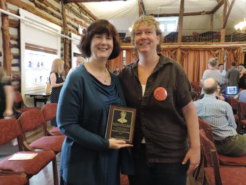 Catherine Coogan Ward Feminist Action Award Recipient Dr. Patricia Minter