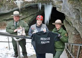 RadonTee at Mammoth Cave