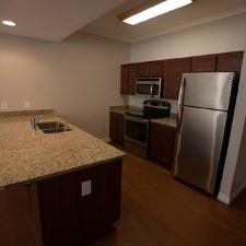 One Bedroom Unit: Kitchen