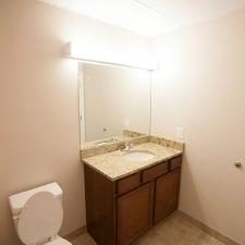 One/Two Bedroom Unit: Bathroom
