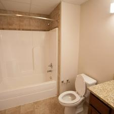 Two Bedroom Unit: First Bathroom