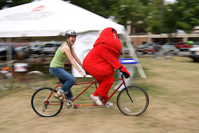 Big Red Bicycling