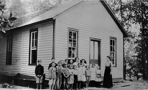 The Pleasant Hill School relied upon a cistern to supply water to its students. (Courtesy of Library Special Collections, WKU)