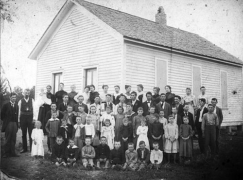 Gilead School was located in the northeastern region of Warren County near the community of Hays. (Courtesy of Library Special Collections, WKU)