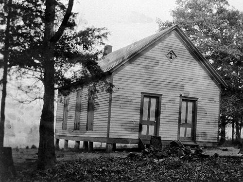 The Underwood School was located just a short distance from Bowling Green on Barren River Road. (Courtesy of Library Special Collections, WKU)