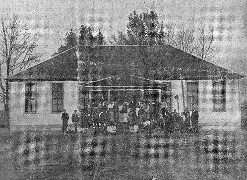 Along with Rich Pond and Woodburn, Boyce was one of the first consolidated schools in Warren County. Interested citizens of the Boyce community worked to make the school possible. The first school term at Boyce opened July 1915. (Courtesy of Library Special Collections, WKU)