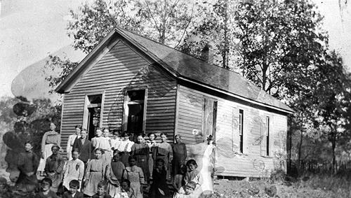 Halls Chapel was located in the northwestern region of the county. (Courtesy of Library Special Collections, WKU)