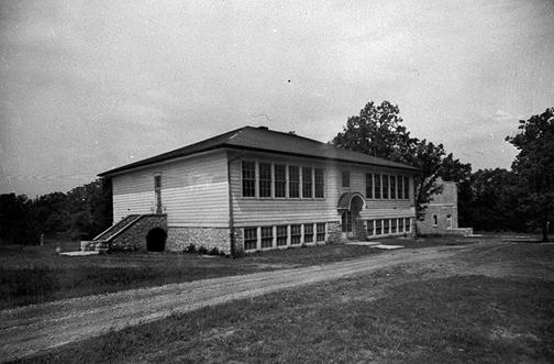 With one classroom located in the basement, Hadley's new school housed four classrooms and a principal's office on the first floor. Constructed the same year, the Richardsville and Hadley schools were almost identical. (Courtesy of Library Special Collections, WKU)