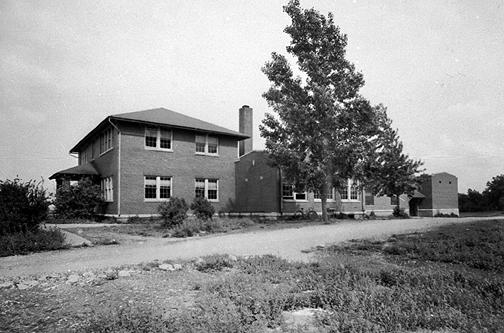 Prior to the destruction of the Rich Pond and Woodburn Schools, plans to build a high school to serve southern Warren County had been discussed. After the two schools burned in 1942, students moved to the Rockfield facility. These three schools consolidated to form South Warren High School in 1942. (Courtesy of Library Special Collections, WKU)