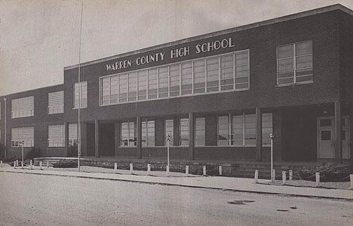 South Warren High School and Hadley High School consolidated in 1950 to form Warren County High School. South Warren brought their school's dragon mascot and school colors, purple and white, to the new high school. Aside from those pupils who attended Alvaton, Warren County educated county students who lived south of the Barren River. (Courtesy of Library Special Collections, WKU)