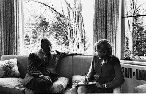 An interview with Robert Penn Warren at Vassar College in Poughkeepsie, New York, 1965.