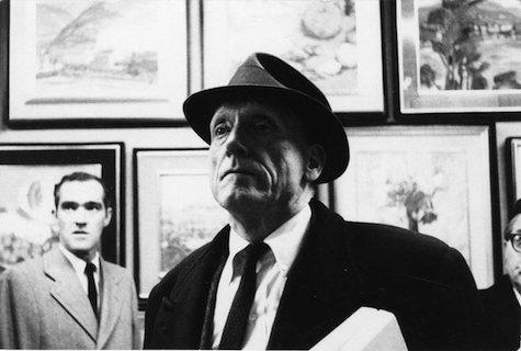 Robert Penn Warren during his Seminar on American Literature in Tokyo, Japan, 1962.