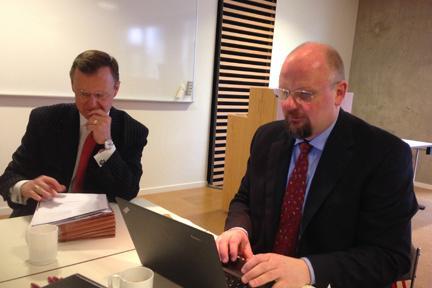 WKU President Gary Ransdell and University of Akureyri Rector Dr. Eyjolfur Gudmundsson