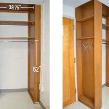 Gilbert Hall Closets