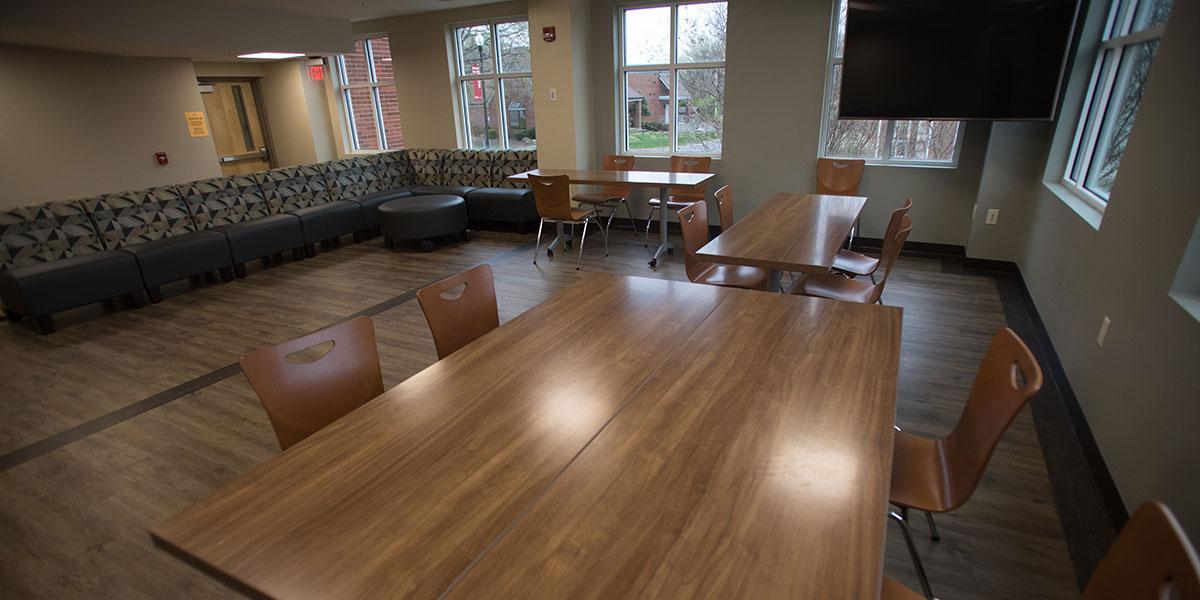 Second Floor Community & Kitchen Area