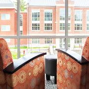 View Lounge chairs in common room Larger