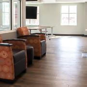View Lounge chairs in Southwest Hall common room Larger