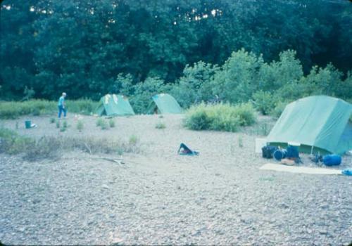 Gravel Bar Camp