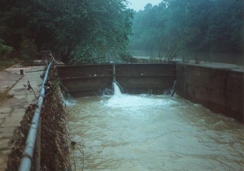 Lock of Flock and Dam