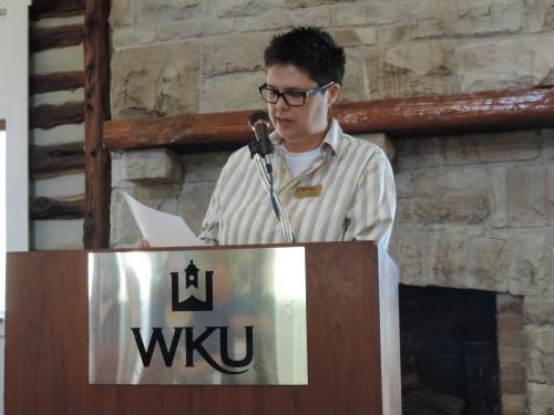 Gender & Women's Studies director Dr. Kristi Branham