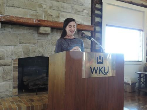 Gender & Women's Studies graduating undergraduate student assistant Erin Miller