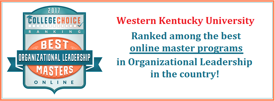 One of the Top Ranked Online MA programs in Organizational Leadership