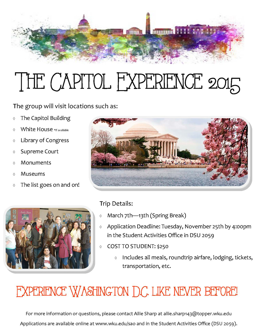 ASB Washington DC Flyer 2014
