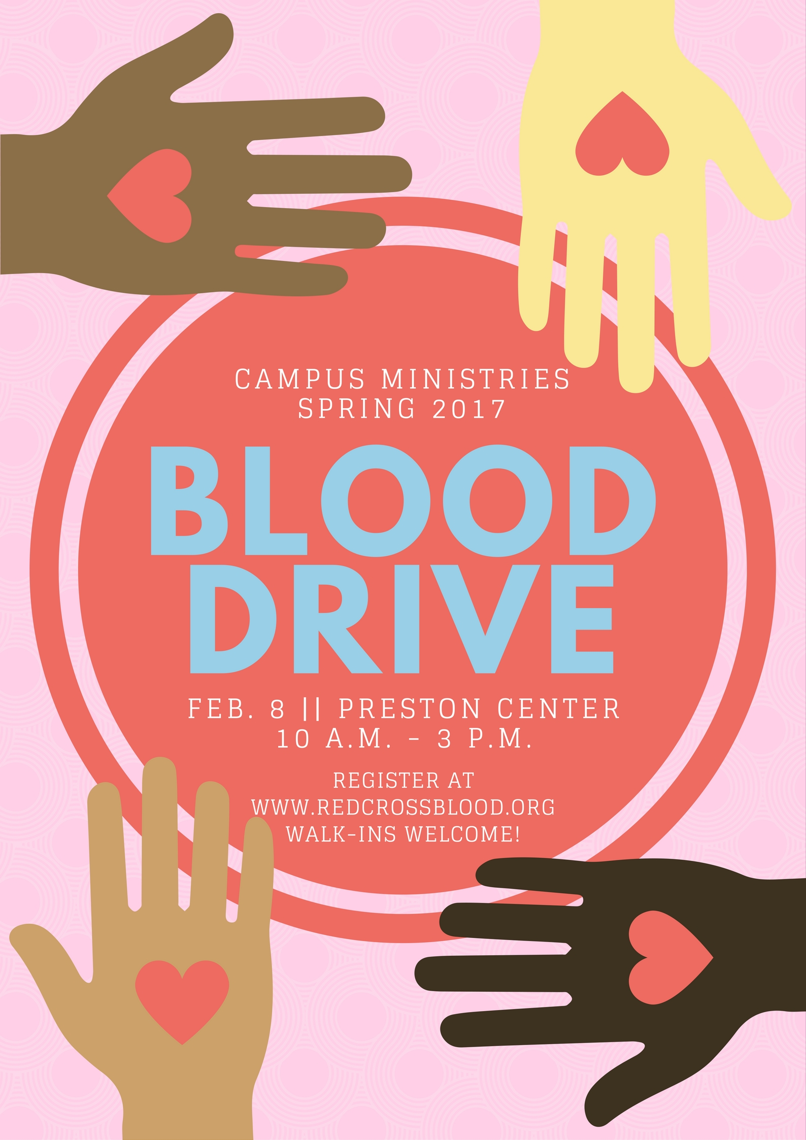 Campus Ministries Blood Drive 2017