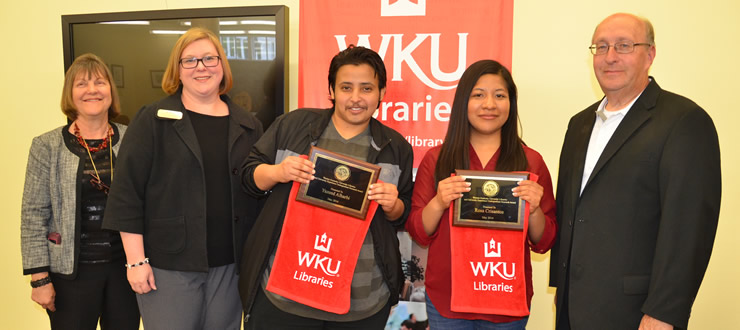 WKU Libraries and University Experience Undergraduate Research Awards