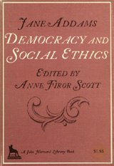 Book cover of Democracy and social ethics