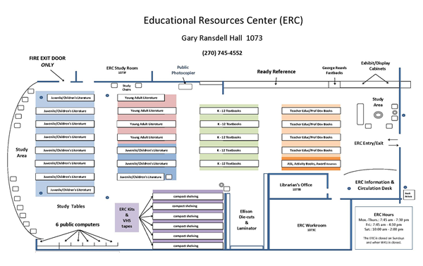 Educational Resources Center: Gary Ransdell Hall 1073