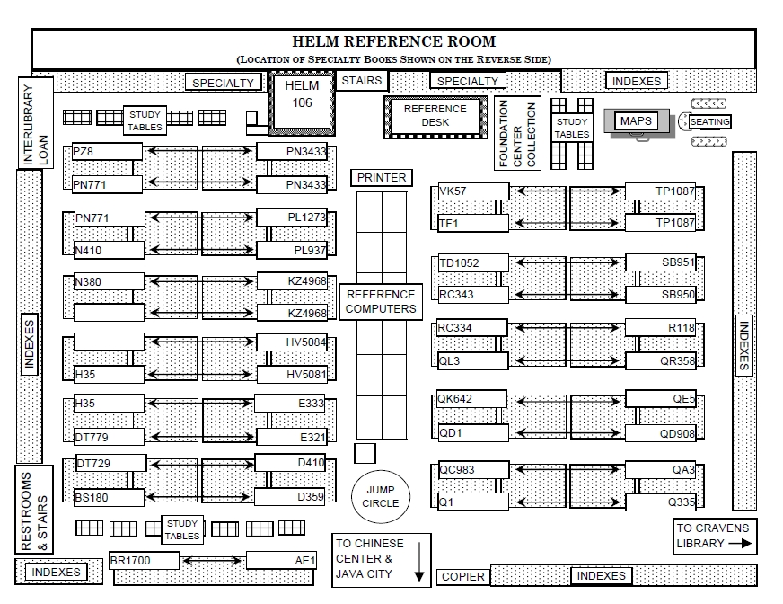 Wku libraries floor plans cravens eighth floor for Bowling alley floor plans