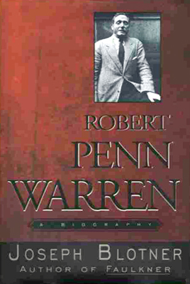 Cover of Robert Penn Warren Biography