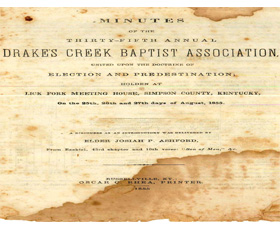 Drake's Creek Baptist Association Minutes