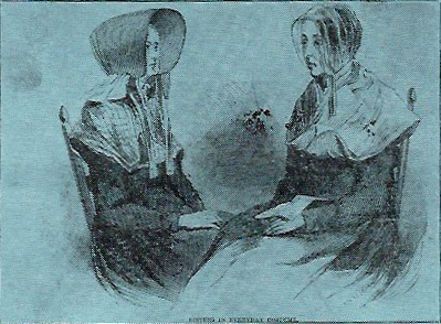 Image of two Shaker women