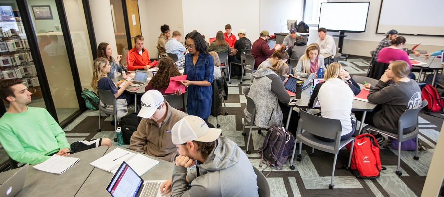 Active Classroom in WKU Libraries
