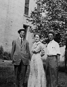 Macon Leiper, Mattie McLean & Guy Byrn