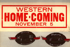 Homecoming Memorabilia