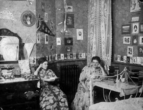 Students in dorm ca 1910
