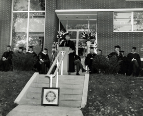Thompson Hall Dedication