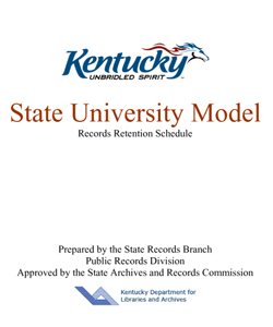 Kentucky State University Model Schedule