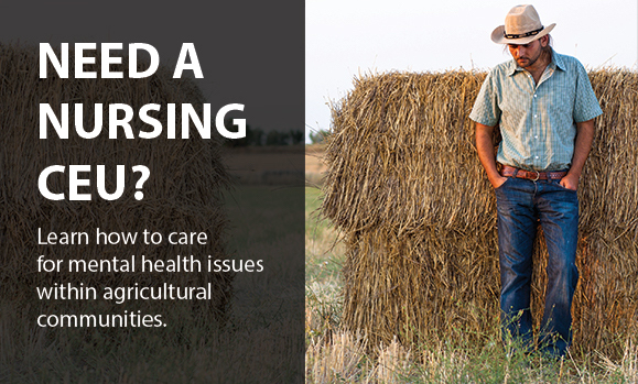 Nursing Respones to Mental Health Issues in Agricultural Communities Image