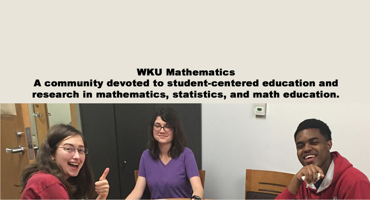WKU Department of Mathematics