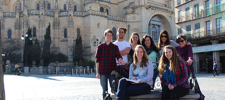 Spanish Students from WKU participating in the KIIS Semester Abroad in Spain