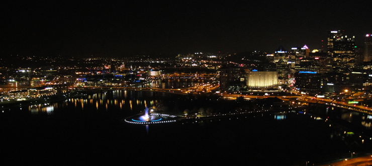 Pittsburg at Night