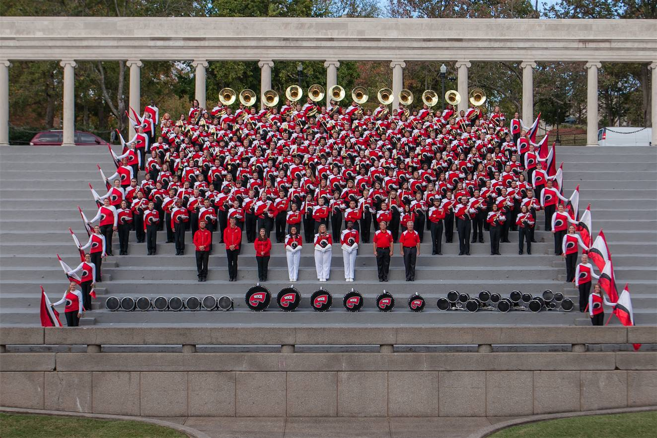 2016 Big Red Marching Band