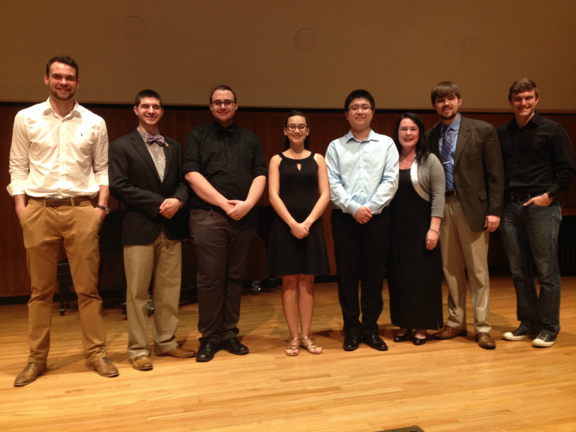 Fall 2016 Performer of the Semester Recital