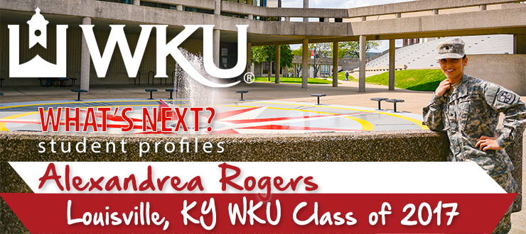 What's Next? Student Profile: Alexandrea Rogers